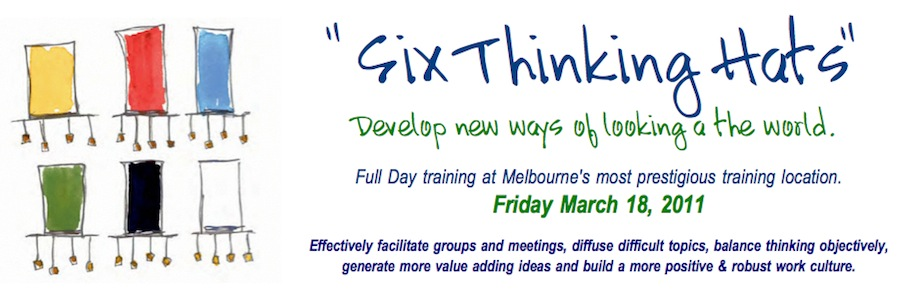 6 Thinking Hats Workshop
